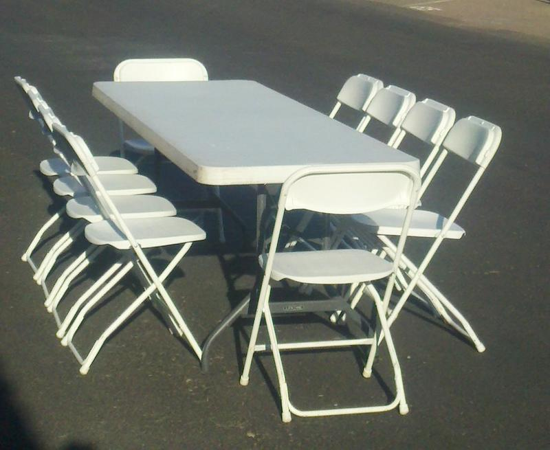 Pin Table And Chair Rental Party Rental Chairs And Table