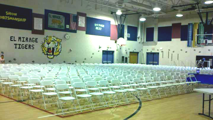 Chair Rentals Services Phoenix Arizona